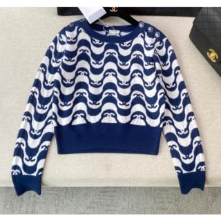 CHANEL - CHANELシャネル CCロゴ カシミア セーター トップス