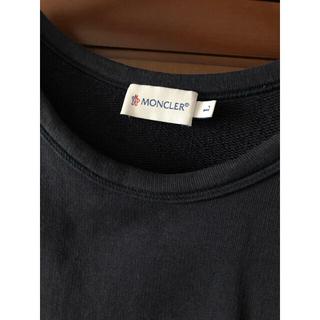 モンクレール(MONCLER)の値下げモンクレール トップス ワンピース ネイビーコットン(カットソー(半袖/袖なし))