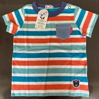 DOUBLE.B - ミキハウスダブルB  Tシャツ 90センチ 新品