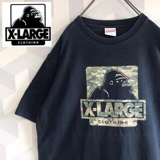 XLARGE - 【エクストララージ】Lサイズ カモフラージュ柄Tシャツ黒ブラック X-Large