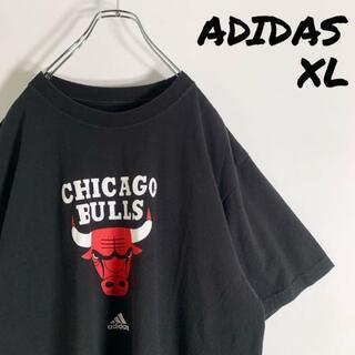 adidas - 【NBA XL】アディダス adidas シカゴ ブルズ ビッグロゴ Tシャツ