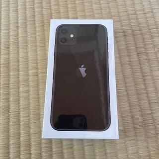 Apple - iPhone 11 black 128GB