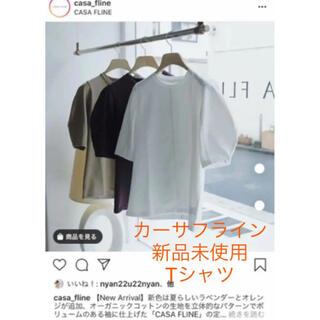 イエナ(IENA)のカーサフライン新品未使用オーガニックコットンTシャツ最終値下げ(Tシャツ(半袖/袖なし))