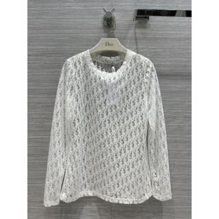 Dior - ★DIOR★ OBLIQUE ジャージー ロングスリーブTシャツ