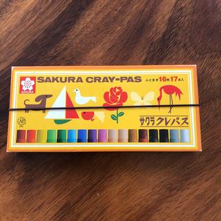SACRA - サクラクレパス クレヨン 16色17本
