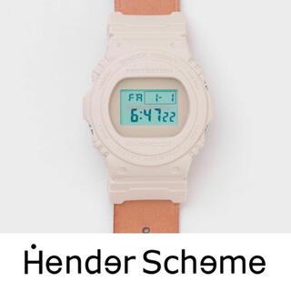 Hender Scheme - 新品未使用品!Hender Scheme × G-SHOCK エンダースキーマ