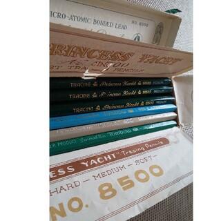 トンボエンピツ(トンボ鉛筆)のアンティーク鉛筆 新品12本 使用品1本(鉛筆)