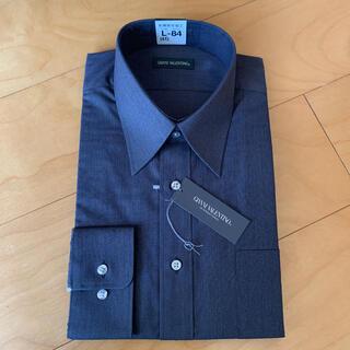 ジャンニバレンチノ(GIANNI VALENTINO)のメンズ ワイシャツ 長袖 Lサイズ (シャツ)