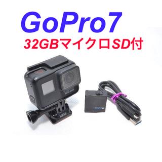 GoPro - ★マイクロSDカード付★ GoPro HERO7 Black ゴープロ ヒーロー