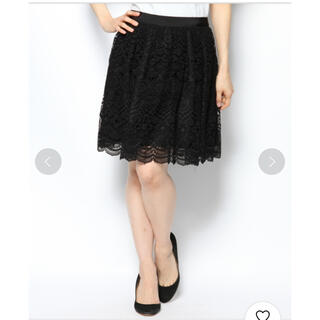 ドーリーガールバイアナスイ(DOLLY GIRL BY ANNA SUI)のドーリーガールバイアナスイ ミューズケミカルレーススカート(ミニスカート)