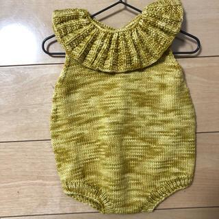 Caramel baby&child  - Kalinka Kids Lily Roomper カリンカ 2-3y