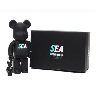メディコムトイ(MEDICOM TOY)のBE@RBRICK atmos WIND AND SEA 100% & 400%(その他)
