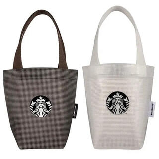 Starbucks Coffee - 正規品♡台湾スターバックス限定♡ ドリンクホルダーセット トートバッグ