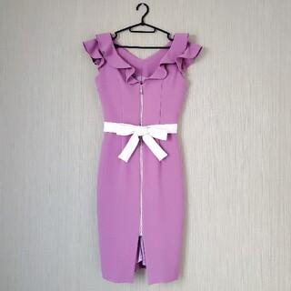 Andy - 韓国高級ドレス★ウエストカットキャバドレス/パーティードレス