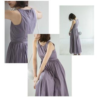 IENA - 【MARIHA】夏のレディのドレス XS  パープル