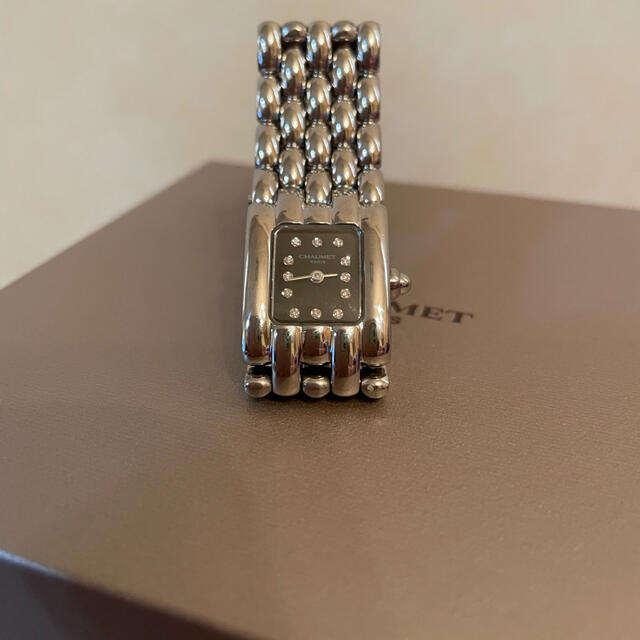 CHAUMET(ショーメ)の特別お値下げ❗️美品❗️ショーメ ケイシス 時計 ダイヤ12P レディースのファッション小物(腕時計)の商品写真