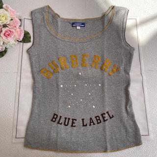 バーバリーブルーレーベル(BURBERRY BLUE LABEL)のBurberry blue label ⭐️タンクトップス⭐️美品36(タンクトップ)