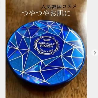 THE FACE SHOP - 未開封☆MIRACLE FINISH ザフェイスショップ カバークッション