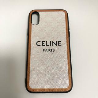 CELINE セリーヌ iPhoneX iPhoneXS ケース(iPhoneケース)