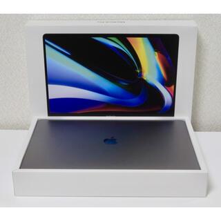 アップル(Apple)のMacBookPro 16 i9 スペースグレイ アップルケア+MVVK2J/A(ノートPC)