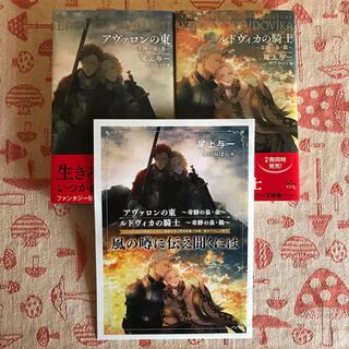 BL 小説 アヴァロンの東 シリーズ2冊 希少小冊子 尾上与一(ボーイズラブ(BL))