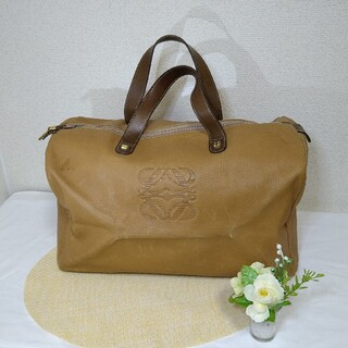 LOEWE - ✬正規品✬ LOEWE ロエベ ハンドバッグ キャメル 茶色