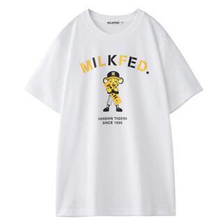 ハンシンタイガース(阪神タイガース)のMILKFED. 阪神タイガース Tシャツ トラッキー(応援グッズ)