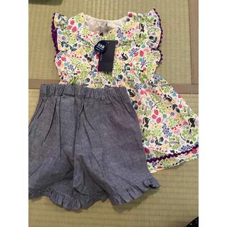 アナスイミニ(ANNA SUI mini)のアナスイミニ ANNA SUI mini セットアップ130(Tシャツ/カットソー)