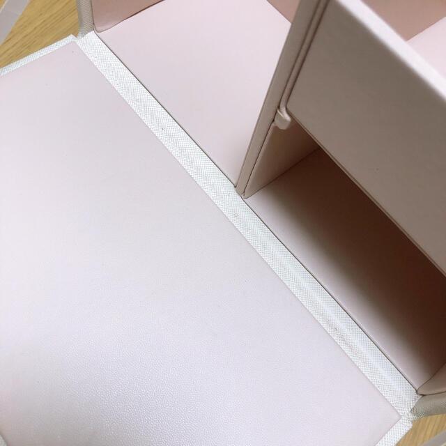 Francfranc(フランフラン)のFrancfranc コスメボックス 収納ボックス コスメ/美容のメイク道具/ケアグッズ(メイクボックス)の商品写真