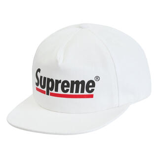Supreme - Supreme Underline 5-Panel White