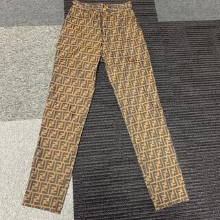 フェンディ(FENDI)のFENDI フェンディ ズッカ 柄パンツ イタリア製 (カジュアルパンツ)
