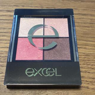 RIMMEL - エクセル リアルクローズシャドウ CS02 ピンクモヘア(1コ入)