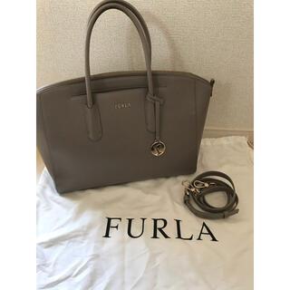 Furla - FURLA トートバッグ グレージュ