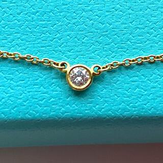 Tiffany & Co. - TIFFANY ティファニー  バイザヤード シングル ダイヤモンド ネックレス