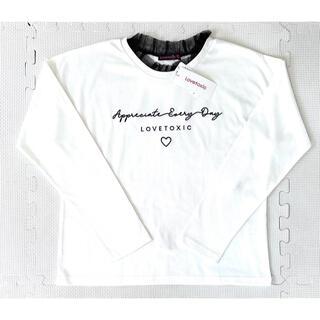 lovetoxic - 定価2,090円【新品タグ付】★lovetoxic★長袖Tシャツ★140★
