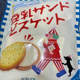 KALDI - ガルディ 豆乳サンドビスケット 4枚