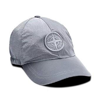 ストーンアイランド(STONE ISLAND)のStone Island big logo duckbill cap(キャップ)