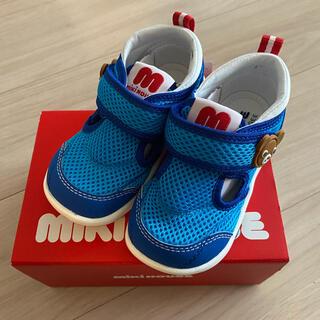 mikihouse - ミキハウス 靴 15センチ 暑い時期にピッタリ!