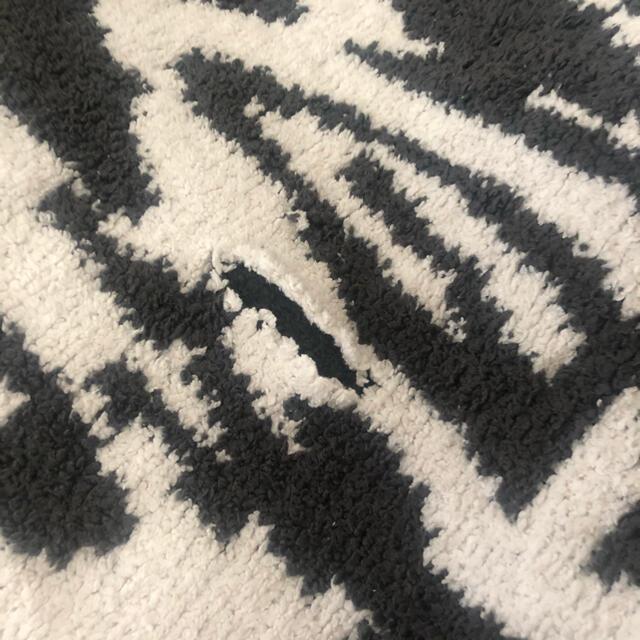 kashwere(カシウエア)のkashwere カシウエア DAMASK織柄  【slate/white】 インテリア/住まい/日用品の寝具(毛布)の商品写真
