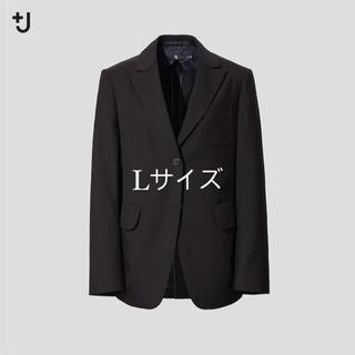 Jil Sander - 2021ss UNIQLO×ジルサンダー ジャケット Lサイズ ブラック