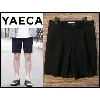 ヤエカ(YAECA)の極美品 ヤエカ 15SS 2way セットアップ パンツ ショート ショーツ M(ショートパンツ)