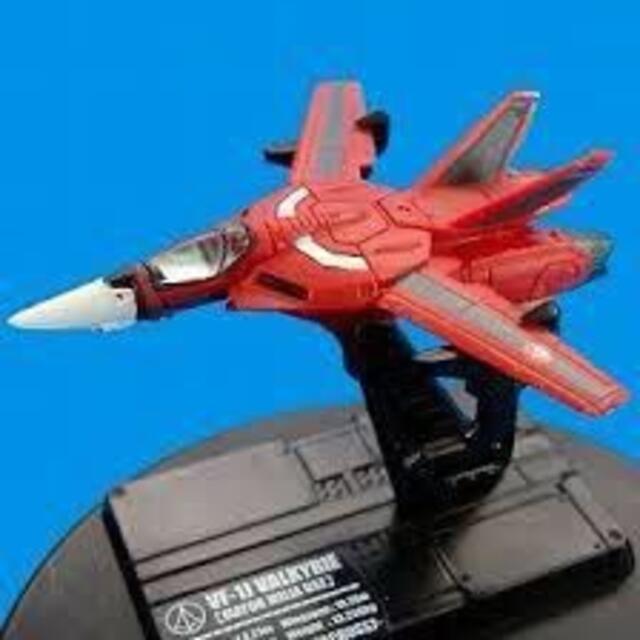 macros(マクロス)のバンダイ マクロス ファイターコレクション1 06.VF-1A ミリア機 エンタメ/ホビーのフィギュア(アニメ/ゲーム)の商品写真