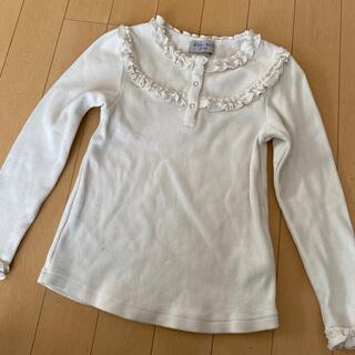 アナスイミニ(ANNA SUI mini)のアナスイミニフリルカットソー120(Tシャツ/カットソー)