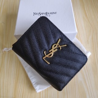 Yves Saint Laurent Beaute - 素敵★送料込み Saint Laurent 小銭入れ★さいふ ★折り財布
