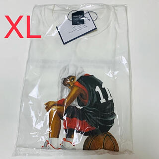 アップルバム(APPLEBUM)のXL applebum Kitsune Boy 流川 Tシャツ スラムダンク(Tシャツ/カットソー(半袖/袖なし))