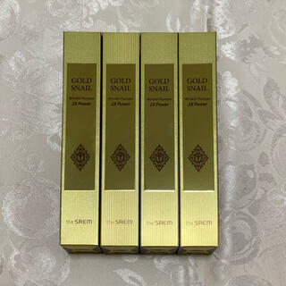 the saem - The SAEM Gold Snail Wrinkle Plumper 2X