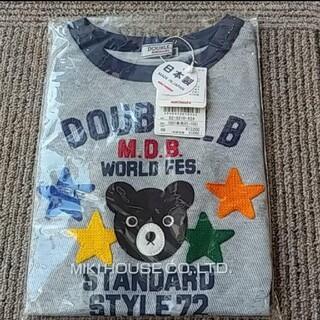DOUBLE.B - ダブルビーTシャツグレー100size