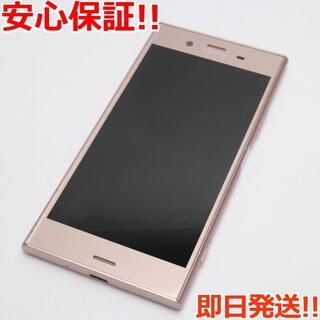 エクスペリア(Xperia)の美品 SO-01K ピンク 本体 白ロム (スマートフォン本体)