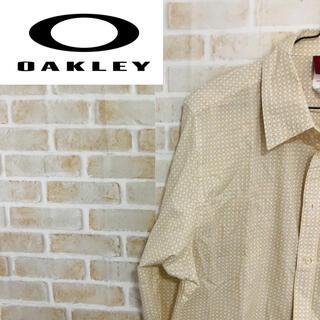 オークリー(Oakley)の【オークリー】メンズ シャツ ブラウス トップス ベージュ イエロー(シャツ)