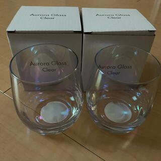 スリーコインズ(3COINS)の3COINS オーロラグラス(グラス/カップ)